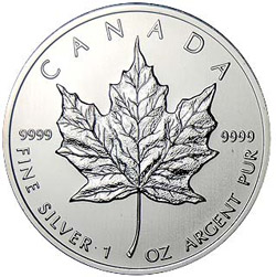 Canadian Silver Maple Leaf Coin, and Alternative to the Silver Eagle